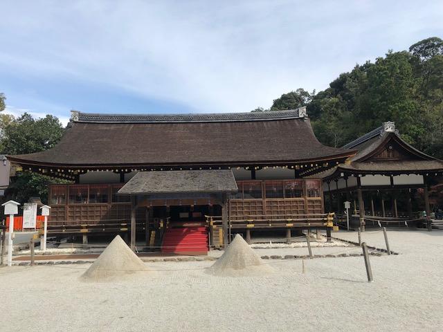賀茂別雷神社(かもわけいかづち)参拝   株式会社ステージホーム
